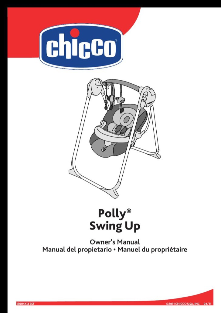 Chicco Owners Manual Sample
