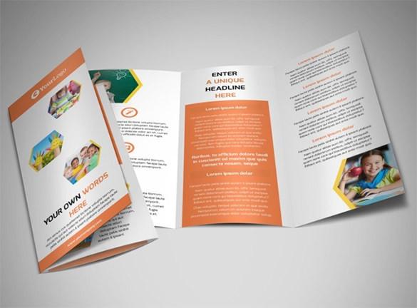 8 School Brochure Psd Templates Designs Free Download