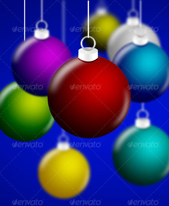 Christmas Balls Transparent PNG Download