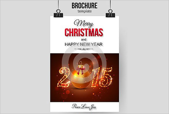 Christmas Brochure Template Abstract Download