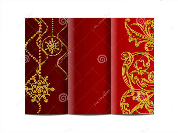 Christmas Brochure Template Large Size Download