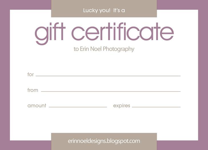 16 Christmas Gift Certificate Templates Free Download