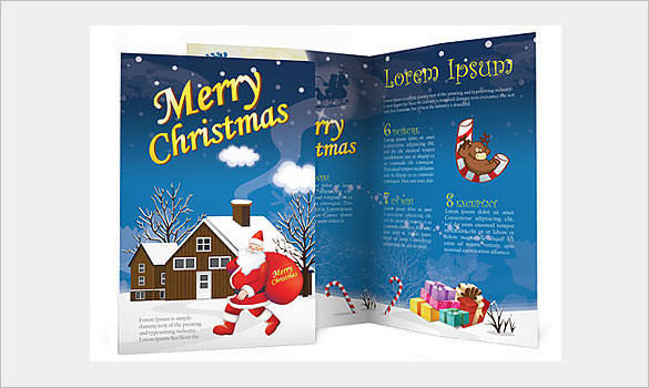 Christmas Social Issues Brochure Template Download