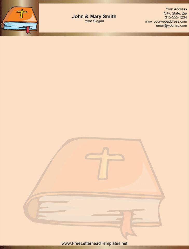 Church Letterhead Template 2