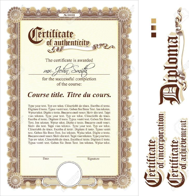 20 Certificate Of Authenticity Templates Free Download