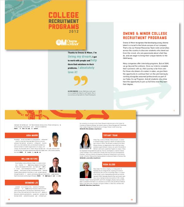 15  recruitment brochures free download