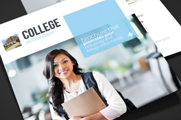 College School Trifold Brochure