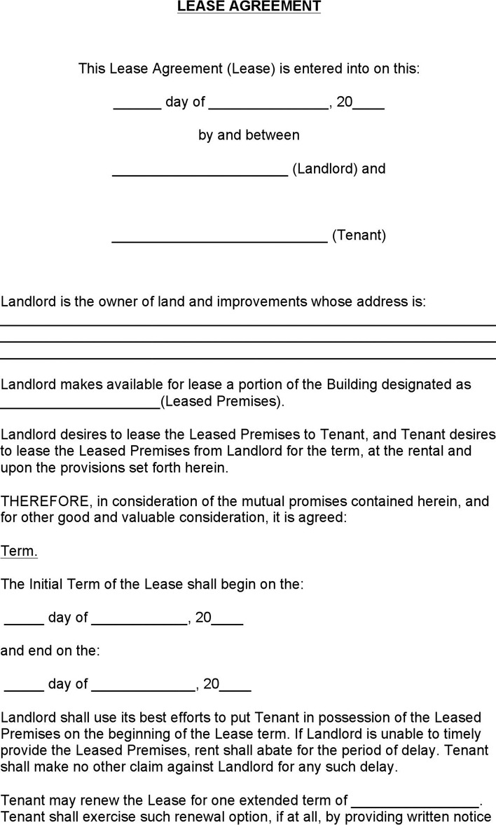 7 Colorado Rent And Lease Template Free Download