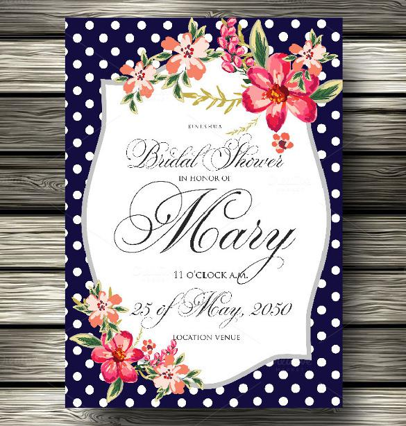 Colorful Background Wedding Invitation Template Download