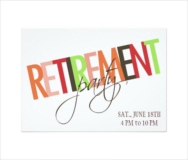 36+ Retirement Party Invitation Templates Free Download