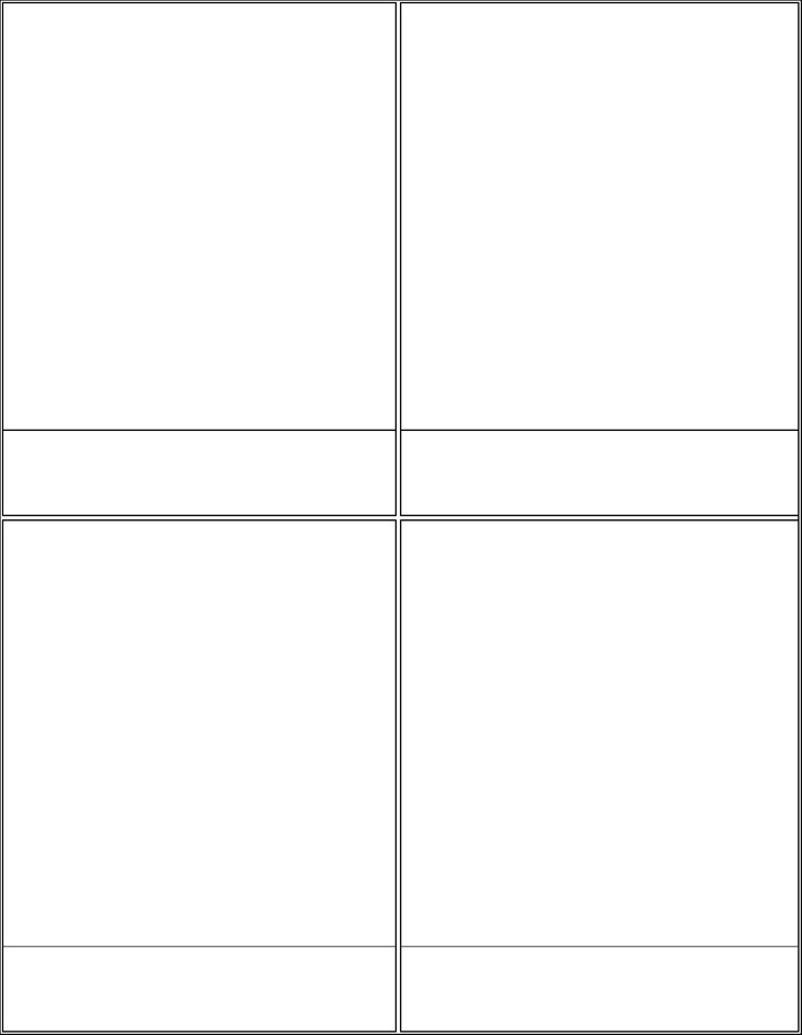 Comic Strip Templates - Big Squares