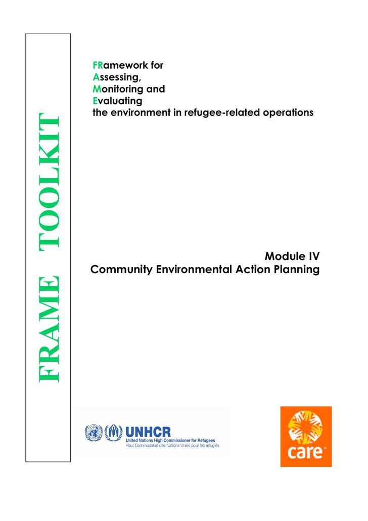 Community Environmental Action Plan Sample