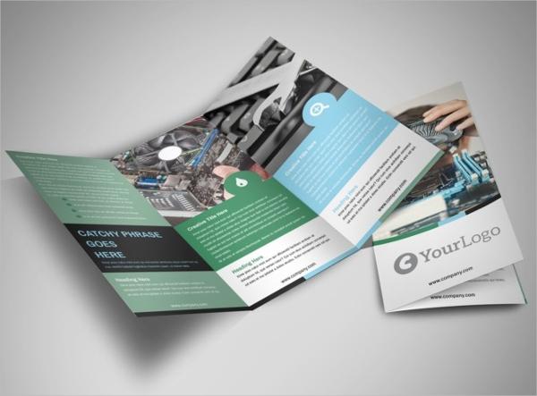 Computer Repair Tri-Fold Brochure