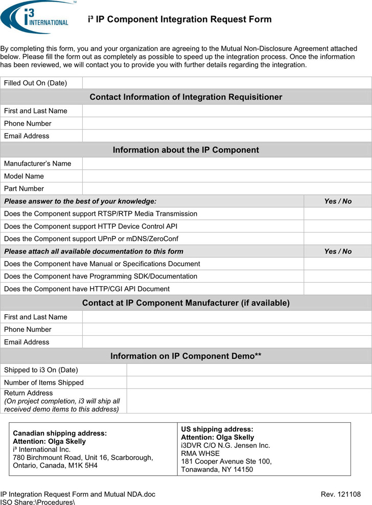 Confidentiality Agreement Template 3