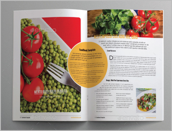 download food brochure templates for free tidytemplates
