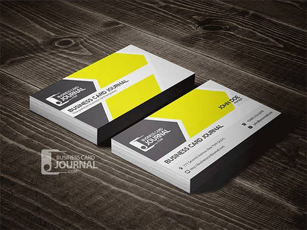 Cool & Refreshing Business Card Template