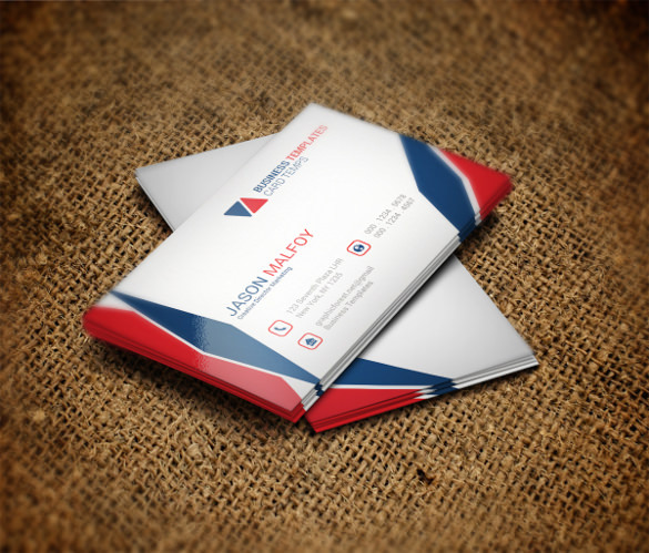 Cool & Smart Business Card Template