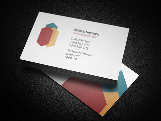 Corporate Architecture Business Card