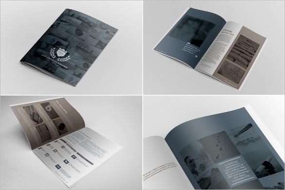 Corporate Brochure Report Template in Word