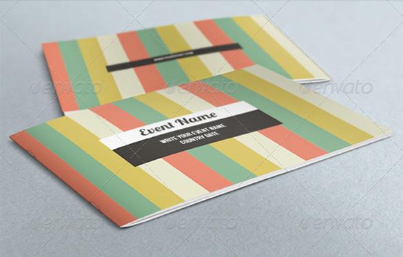 Corporate Event Brochure Template - $11