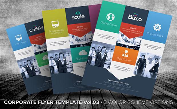 Corporate Flyer Templates Vol 03