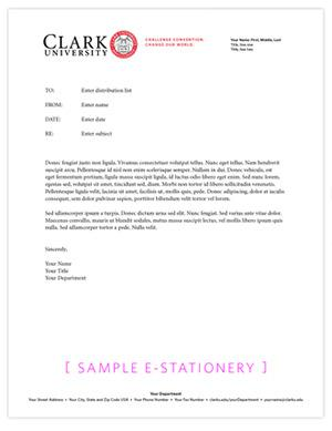 Corporate Letterhead Stationary Template