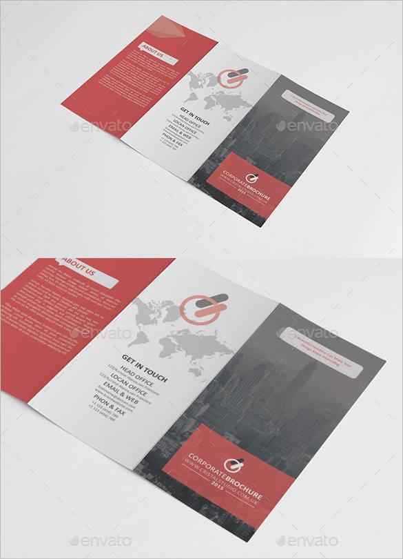 Corporate Tri-fold Brochure Design