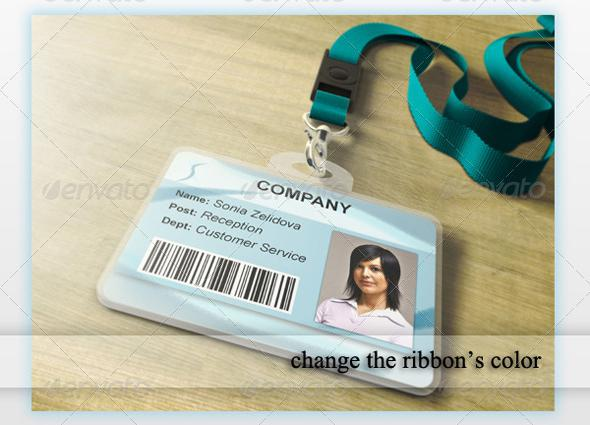 Corporates ID Card PSD Template