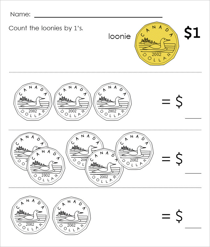 Counting Canadian Money Worksheet Template.jpg