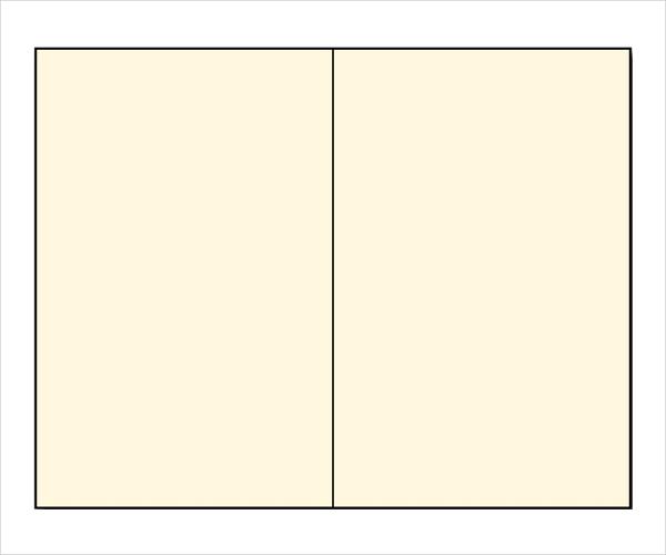 Blank Brochure Templates: 11+ Blank Bi Fold Brochure Template Free Download