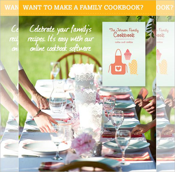 31 cookbook template free download