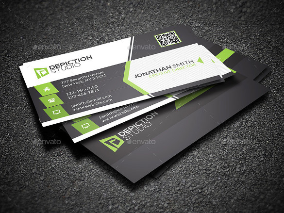 Creative & Cool Business Card PSD Download