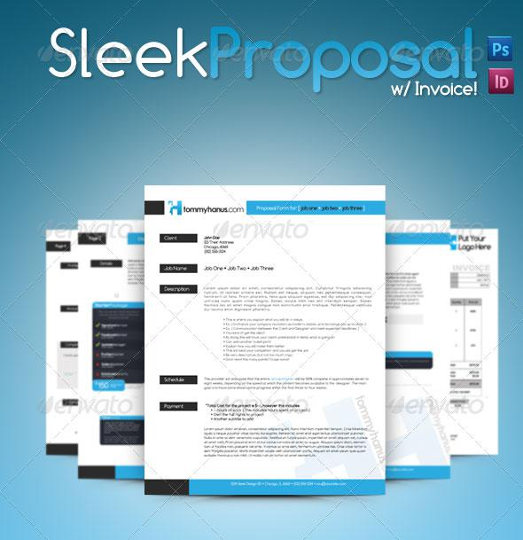 37 proposal templates free download creative business proposal template in word format flashek Image collections