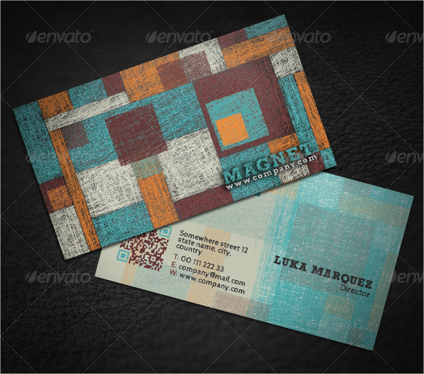 Creative Magnet Business Card