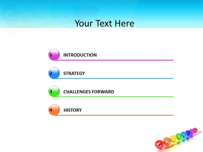 Creative Powerpoint Template Download