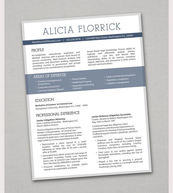 Creative Resume & Matching Letterhead