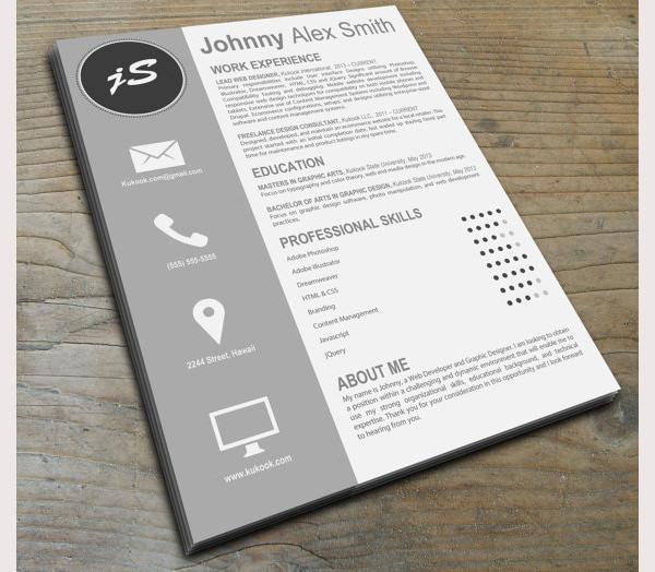 Creative Resume Template 3