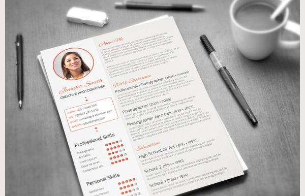 Creative Resume Template 5