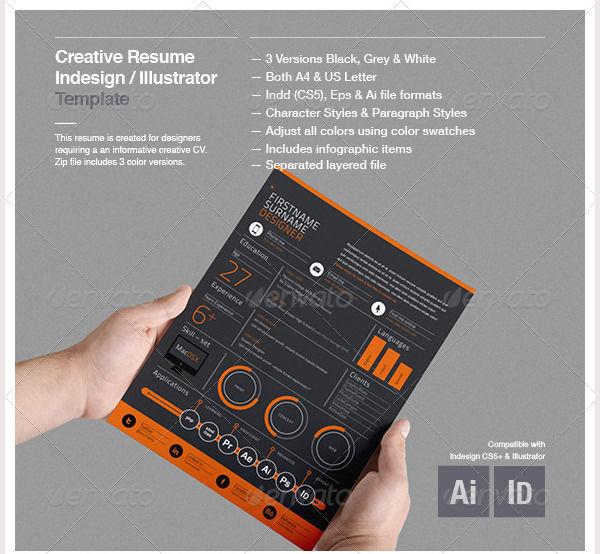 Creative Resume Template 6