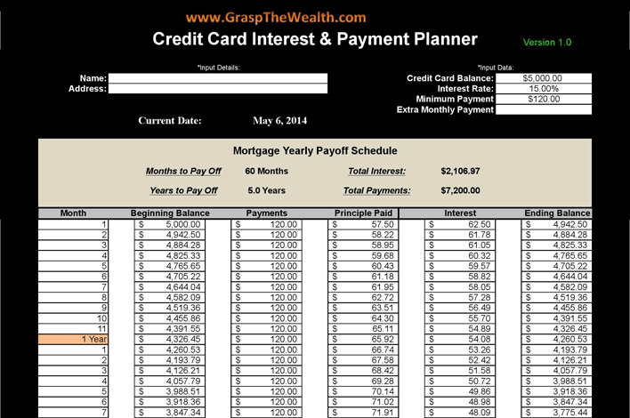 9 debt payoff calculators free download