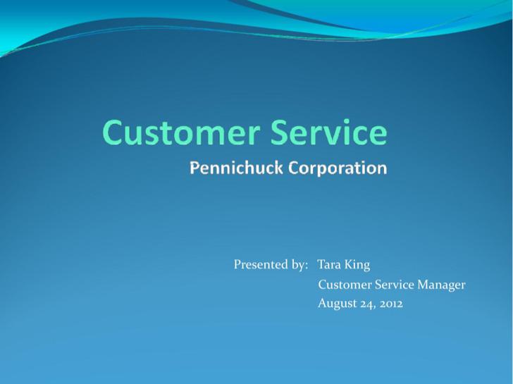 Customer Service Analysis Template