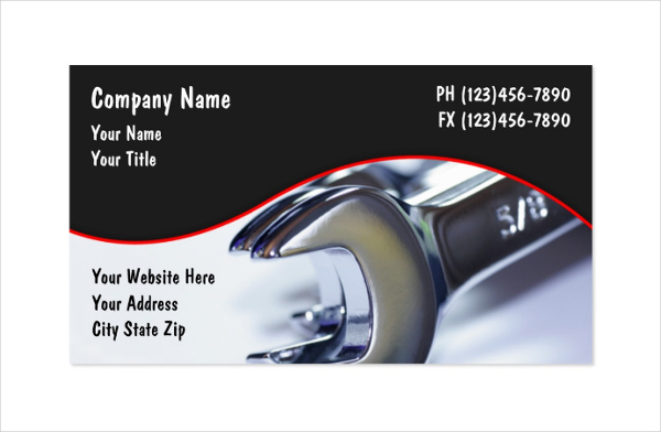 Customize Business Card Template