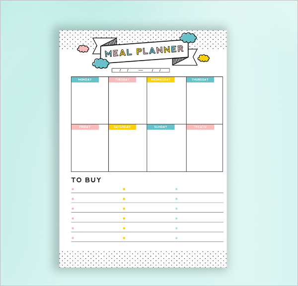 5 daily budget planner templates free download