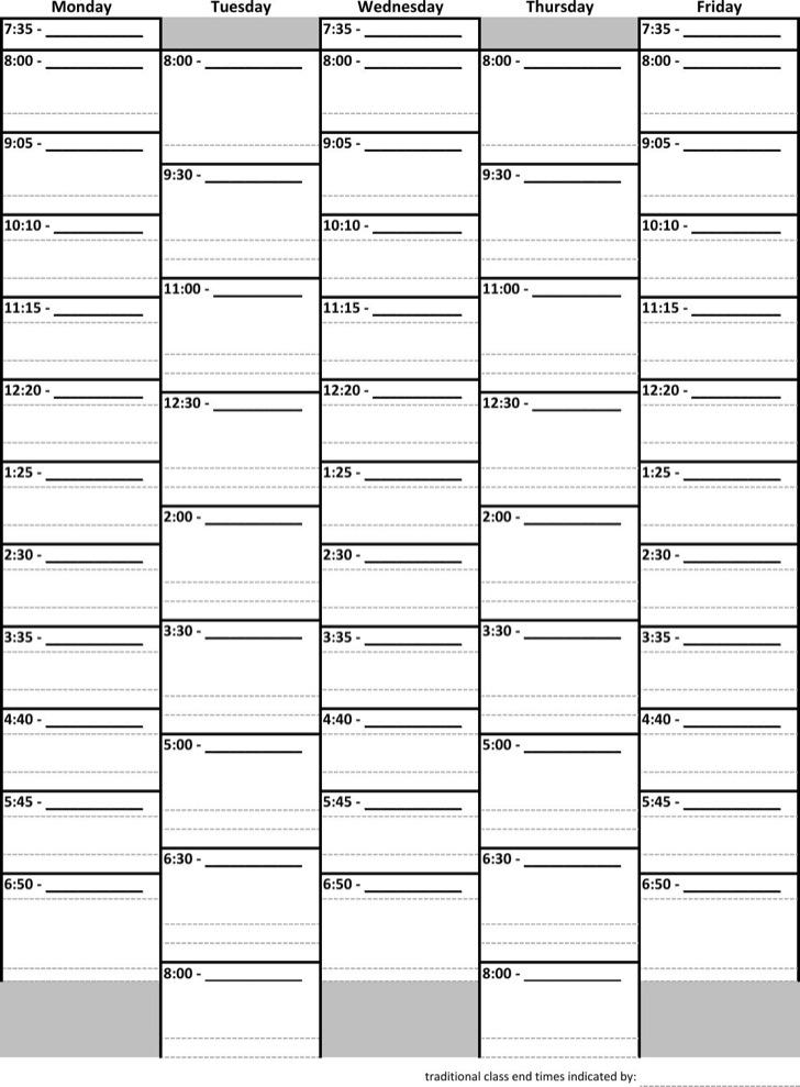 Daily Schedule Planner 1