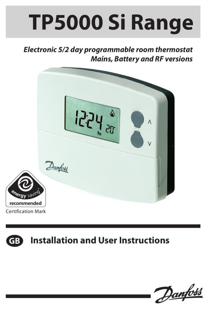 Danfoss Randall Instruction Manual Sample