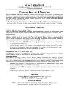 Dark Blank Resume Template