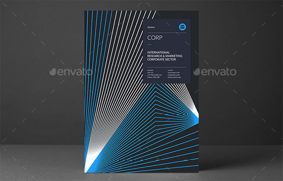 Dark Corporate Brochure Template