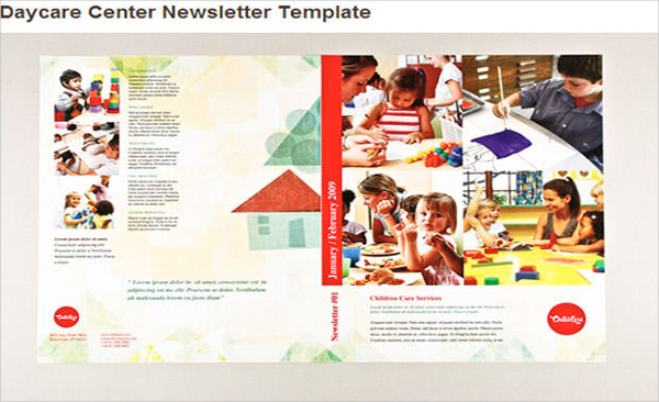 Daycare Center Newsletter Template