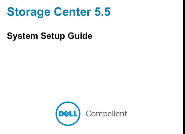 Dell Setup Guide Sample