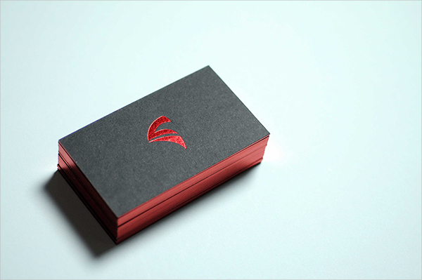 Designed Business Card Template